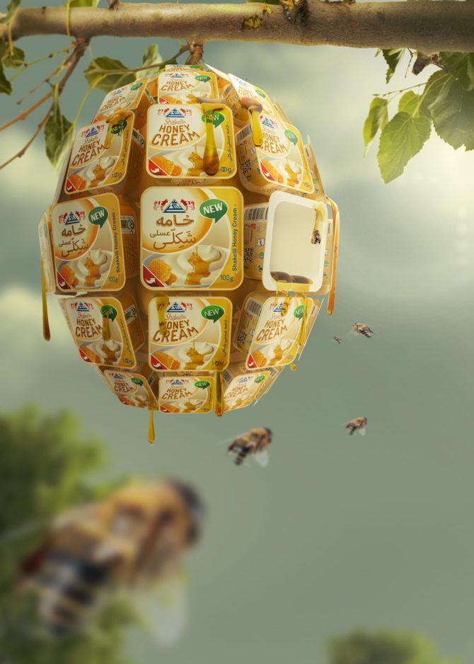 Original honey cream